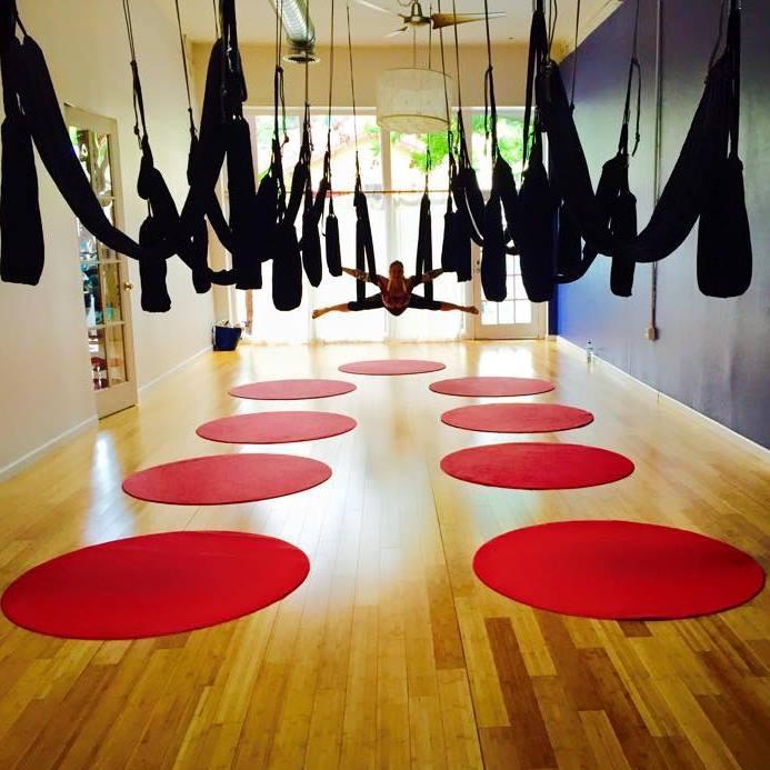 Aerial Yoga Play